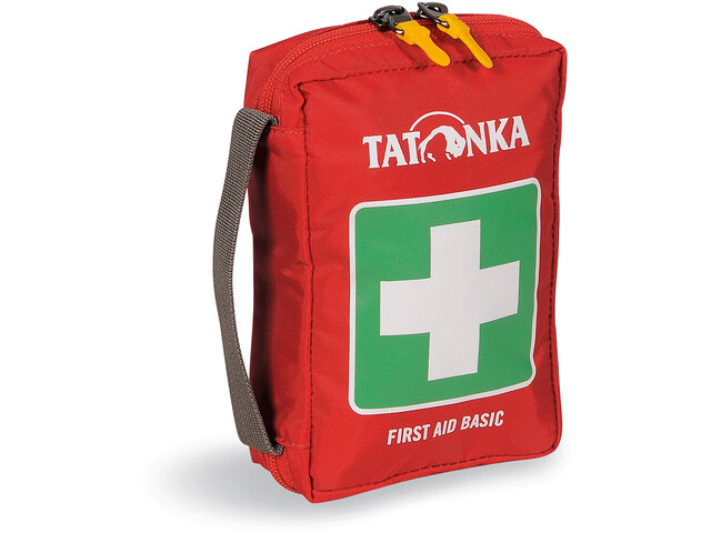 Tatonka First Aid - Basic verde/rojo